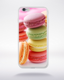 Coque macarons 2 compatible iphone 6 transparent