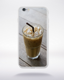 Coque café frappé compatible iphone 6 transparent