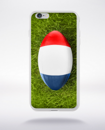 Coque rugby drapeau france compatible iphone 6 transparent