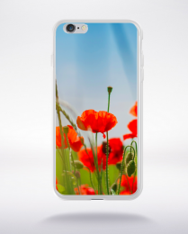Coque coquelicots des champs 2 compatible iphone 6 transparent