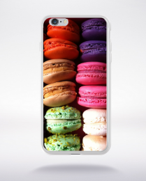 Coque macarons 6 compatible iphone 6 transparent