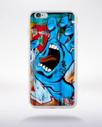 Coque graffiti de rue compatible iphone 6 transparent