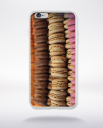 Coque macarons 7 compatible iphone 6 transparent