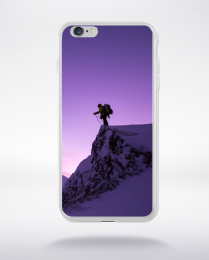 Coque randonnée en montagne  compatible iphone 6 transparent