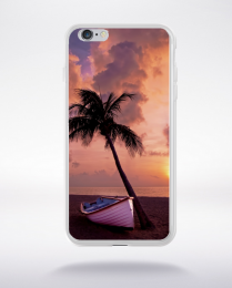 Coque palm tree  compatible iphone 6 transparent