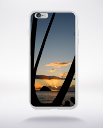 Coque coucher de soleil martinique  compatible iphone 6 transparent