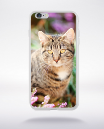 Coque le chat compatible iphone 6 transparent