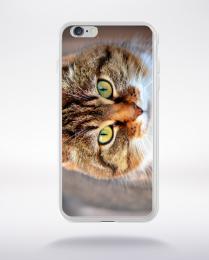 Coque le chat de gouttiére  compatible iphone 6 transparent