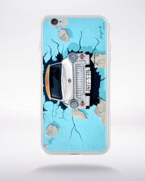 Coque graffiti voiture compatible iphone 6 transparent