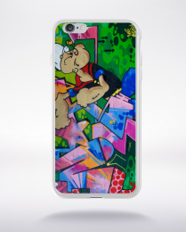Coque graffiti popey compatible iphone 6 transparent