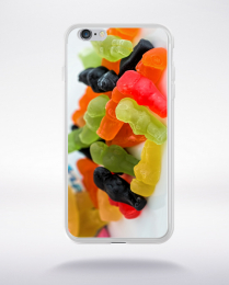 Coque ours compatible iphone 6 transparent