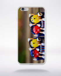 Coque figurine m&m compatible iphone 6 transparent