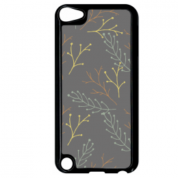 Coque autumn pattern 16 compatible ipod touch 5 bord noir