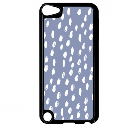 Coque adventure pattern 7 compatible ipod touch 5 bord noir