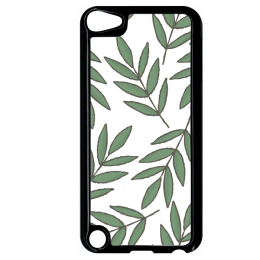 Coque autumn pattern 1 compatible ipod touch 5 bord noir