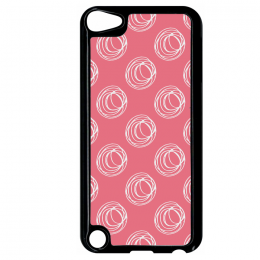 Coque autumn pattern 11 compatible ipod touch 5 bord noir