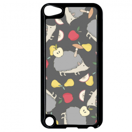 Coque autumn pattern 15 compatible ipod touch 5 bord noir