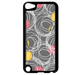 Coque autumn pattern 3 compatible ipod touch 5 bord noir