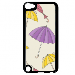 Coque autumn pattern 19 compatible ipod touch 5 bord noir