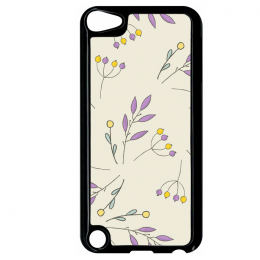 Coque autumn pattern 18 compatible ipod touch 5 bord noir