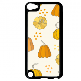 Coque autumn pattern 4 compatible ipod touch 5 bord noir