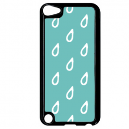 Coque autumn pattern 7 compatible ipod touch 5 bord noir