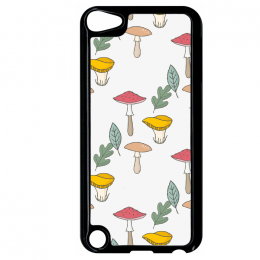 Coque autumn pattern 13 compatible ipod touch 5 bord noir