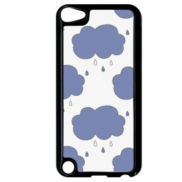 Coque autumn pattern 17 compatible ipod touch 5 bord noir