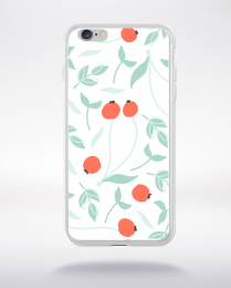 Coque blooming pattern 3 compatible iphone 6 transparent
