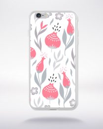 Coque blooming pattern 8 compatible iphone 6 transparent