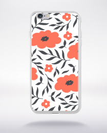 Coque blooming pattern 1 compatible iphone 6 transparent