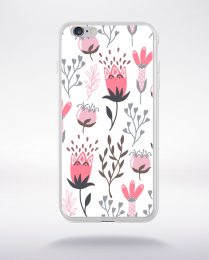 Coque blooming pattern 12 compatible iphone 6 transparent