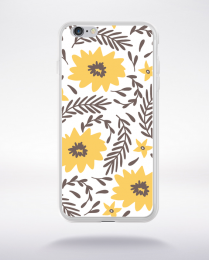 Coque blooming pattern 2 compatible iphone 6 transparent