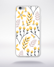 Coque blooming pattern 7 compatible iphone 6 transparent