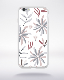 Coque blooming pattern 10 compatible iphone 6 transparent