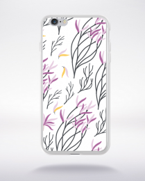 Coque blooming pattern 6 compatible iphone 6 transparent