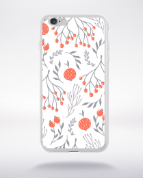 Coque blooming pattern 11 compatible iphone 6 transparent