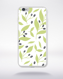 Coque blooming pattern 5 compatible iphone 6 transparent