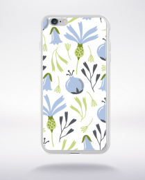 Coque blooming pattern 4 compatible iphone 6 transparent