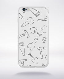 Coque cartoon pattern 4 compatible iphone 6 transparent