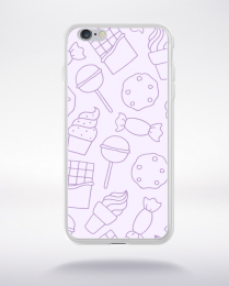 Coque cartoon pattern 16 compatible iphone 6 transparent