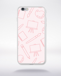 Coque cartoon pattern 3 compatible iphone 6 transparent