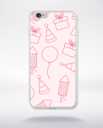 Coque cartoon pattern 18 compatible iphone 6 transparent