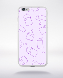 Coque cartoon pattern 6 compatible iphone 6 transparent