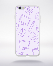 Coque cartoon pattern 2 compatible iphone 6 transparent