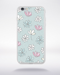 Coque cute forest pattern 9 compatible iphone 6 transparent