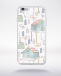 Coque cute forest pattern 5 compatible iphone 6 transparent