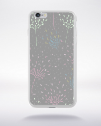 Coque cute forest pattern 7 compatible iphone 6 transparent