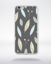 Coque cute forest pattern 8 compatible iphone 6 transparent