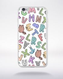 Coque cute stamps pattern 2 compatible iphone 6 transparent